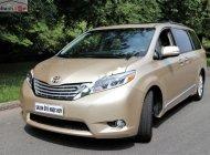 Bán Toyota Sienna Limited 3.5 đời 2013, màu vàng, xe nhập giá 2 tỷ 380 tr tại Tp.HCM