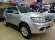 Cần bán lại xe Toyota Fortuner 2.7V 4x4 AT sản xuất 2010, màu bạc, xe gia đình, giá tốt giá 530 triệu tại Đắk Lắk