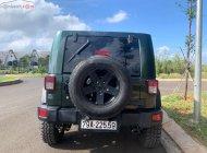 Bán Jeep Wrangler Sahara Unlimited năm sản xuất 2009, màu xanh lam, xe nhập giá 1 tỷ 700 tr tại Đắk Lắk