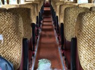 Bán xe cũ Hyundai Universe Space Hi-Class sản xuất 2005, màu đỏ, xe nhập giá 650 triệu tại Hà Nội