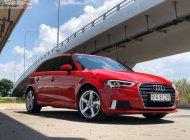 Bán Audi A3 Sportback sản xuất năm 2018, màu đỏ, nhập khẩu nguyên chiếc giá 1 tỷ 310 tr tại Tp.HCM