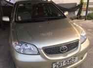 Cần bán Toyota Vios đời 2003, màu vàng giá 160 triệu tại Hà Nội