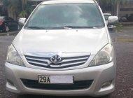 Cần bán xe Toyota Innova G sản xuất 2011, màu bạc chính chủ giá 420 triệu tại Hà Nội