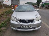 Cần bán lại xe Toyota Vios 1.5G đời 2003, màu bạc xe gia đình giá 162 triệu tại Thái Nguyên
