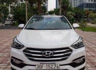 Bán xe Hyundai Santa Fe năm sản xuất 2018, màu trắng giá 1 tỷ 130 tr tại Hà Nội