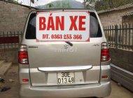 Cần bán xe cũ Suzuki APV đời 2009, màu bạc giá 225 triệu tại Lạng Sơn