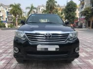 Bán Toyota Fortuner năm sản xuất 2013, màu đen, giá 596tr giá 596 triệu tại Tp.HCM