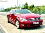 Bán Lexus LS 460 sản xuất năm 2010, màu đỏ, xe nhập giá 1 tỷ 590 tr tại Tp.HCM