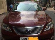 Bán Lexus LS 600 HL sản xuất 2008, màu đỏ, nhập khẩu giá 1 tỷ 780 tr tại Tp.HCM