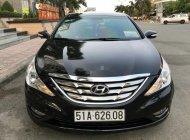 Cần bán lại xe Hyundai Sonata năm sản xuất 2010, màu đen, nhập khẩu nguyên chiếc còn mới giá 468 triệu tại Tp.HCM