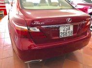 Bán Lexus LS 460 AWD sản xuất năm 2010, màu đỏ, xe nhập giá 1 tỷ 850 tr tại Hà Nội