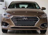 Bán xe Hyundai Accent 1.4L AT năm sản xuất 2020, màu nâu giá 504 triệu tại Tp.HCM