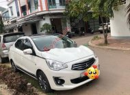 Cần bán lại xe Mitsubishi Attrage 2018, màu trắng chính chủ giá 340 triệu tại Bình Định