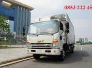 Bán ô tô JAC HFC N650 (6 tấn 5) THÙNG 6M2 PLUS đời 2020, màu trắng, HỖ TRỢ CHO VAY 70% giá 170 triệu tại Tp.HCM