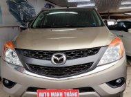 Cần bán gấp Mazda BT 50 3.2L 2015, màu vàng cát  giá 520 triệu tại Hà Nội