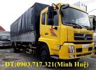 Xe tải DongFeng 9 tấn Euro 5 nhập 2019 thùng 7m7 giá 950 triệu tại Bình Phước