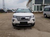 Bán xe Ford Explorer năm sản xuất 2018, màu trắng, xe nhập giá 1 tỷ 800 tr tại Tp.HCM