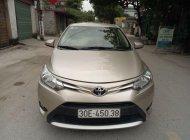 Bán Toyota Vios năm sản xuất 2017, màu vàng giá 390 triệu tại Hà Nội