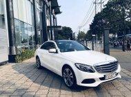 Bán Mercedes C250 năm 2018, màu trắng giá 1 tỷ 290 tr tại Tp.HCM