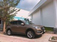 Bán Hyundai Santa Fe năm 2017, màu nâu, giá 830tr giá 830 triệu tại Tp.HCM