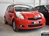 Bán xe Toyota Yaris G đời 2011, màu đỏ, nhập khẩu nguyên chiếc giá 430 triệu tại Tp.HCM