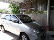 Gia đình cần bán chiếc Toyota Innova 8 chỗ năm 2010, màu bạc giá 330 triệu tại Bình Thuận