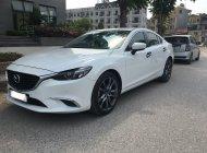 Bán Mazda 6 màu trắng nội thất đen, SX 2017, xe gia đình đi giữ gìn còn rất mới giá 755 triệu tại Hà Nội