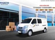 Bán xe tải Thaco Van máy Suzuki 2 chỗ 5 chỗ, tải 490 nâng tải 750 hoặc 945kg vào phố, khoang chứa hàng 2.1m giá 266 triệu tại Hà Nội