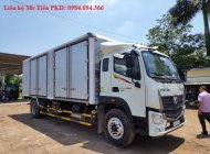 Xe tải Thaco Auman C160 tải 9.3 tấn thùng 7.4m máy Cusmin đóng các loại thùng lửng, mui bạt, cánh rơi, kín mở 4 cửa hông giá 750 triệu tại Hà Nội
