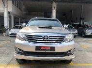 Cần bán xe Toyota Fortuner G sản xuất 2015, màu bạc, chạy ít 88.900km giá còn fix mạnh giá 750 triệu tại Tp.HCM