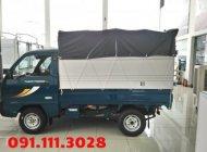 Xe tải 9 tạ Thaco Towner800 thùng bạt, chạy trong ngõ ngách, giao xe tận nhà khách hàng giá 176 triệu tại Hải Phòng