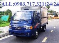 Bán xe tải Jac 1T45 thùng kín cánh dơi, bán hành lưu động giá 350 triệu tại Bình Dương