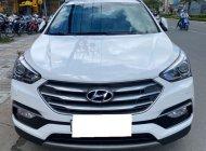 Gia đình cần bán Hyundai Santafe 2018, ĐK 2019 số tự động, máy dầu, màu trắng giá 996 triệu tại Tp.HCM