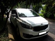 Kia Sedona 2015 GATH, máy xăng, màu trắng, bản full, nhà đang cần bán giá 653 triệu tại Tp.HCM