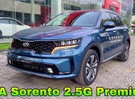 Kia Sorento 2021 2.5G Premium màu xanh. Đưa trước 330 triệu nhận xe giá 1 tỷ 159 tr tại Tp.HCM