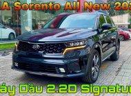 KIA Sorento 2021 2.2D Signature màu Xanh Đen giao trong năm 2021 giá 1 tỷ 329 tr tại Tp.HCM