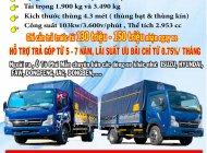 xe tải 3 tấn 5 động cơ nhật bản thùng inox 3 lớp giá tốt giá 400 triệu tại Bình Dương