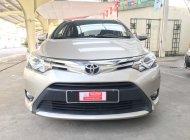 Cần bán lại xe Toyota Vios G năm 2015, màu nâu vàng giá 470 triệu tại Tp.HCM