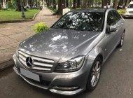 Cần bán Mercedes C200 2013, tự động, màu xám giá 596 triệu tại Tp.HCM
