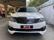 Cần bán xe Toyota Fortuner 2.7V đời 2015, màu trắng, giá Khuyến Mãi giá 760 triệu tại Tp.HCM