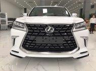 Lexus LX570 MBS 4 ghế VIP thương gia màu trắng nội thất nâu da bò 2021 nhập mới 100% giá 9 tỷ 980 tr tại Hà Nội