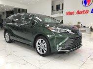 Việt Auto Luxury Bán xe Toyota Sienna Platinum xanh bộ độ sản xuất 2021 nhập mới 100%, xe được sản xuất tại Mỹ giá 4 tỷ 280 tr tại Hà Nội