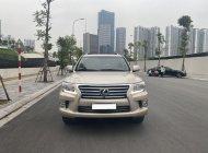 Bán xe Lexus LX 570 đời 2012, màu vàng cát, nhập khẩu chính hãng giá 3 tỷ 480 tr tại Hà Nội