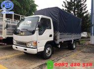 Xe tải Jac 2t45 thùng mui bạt, hỗ trợ trả góp đến 80% giá 355 triệu tại Bình Dương