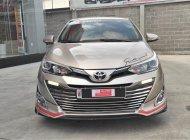 Bán Toyota Vios 1.5G AT đời 2018, màu vàng, biển SG - chuẩn 84.000km - Gia đình xem xe thương lượng tiếp giá 550 triệu tại Tp.HCM