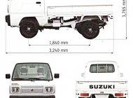 Cần bán xe Suzuki Supper Carry Truck đời 2021, màu trắng, nhập khẩu, giá chỉ 249 triệu giá 249 triệu tại Bình Dương