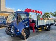 Hyundai Mighty Ex8L thùng lửng có gắn cẩu unic 3 tấn 4 đốt, tải trọng 7 tấn thùng 5m3 giá 1 tỷ 450 tr tại Hà Nội