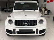 Bán Mercedes G63 AMG màu trắng, nội thất đỏ, sản xuất 2021, mới 100%, xe giao ngay giá 12 tỷ 600 tr tại Hà Nội