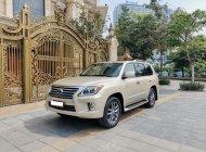 Bán xe Lexus LX570 năm 2012 vàng kem giá 3 tỷ 480 tr tại Hà Nội