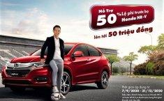 Honda HR-V được hỗ trợ 50% phí trước bạ